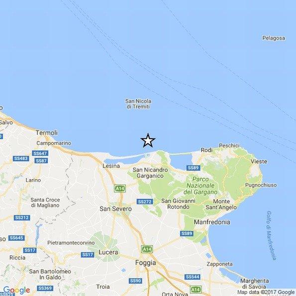 Terremoto in Campania, scossa avvertita nel napoletano