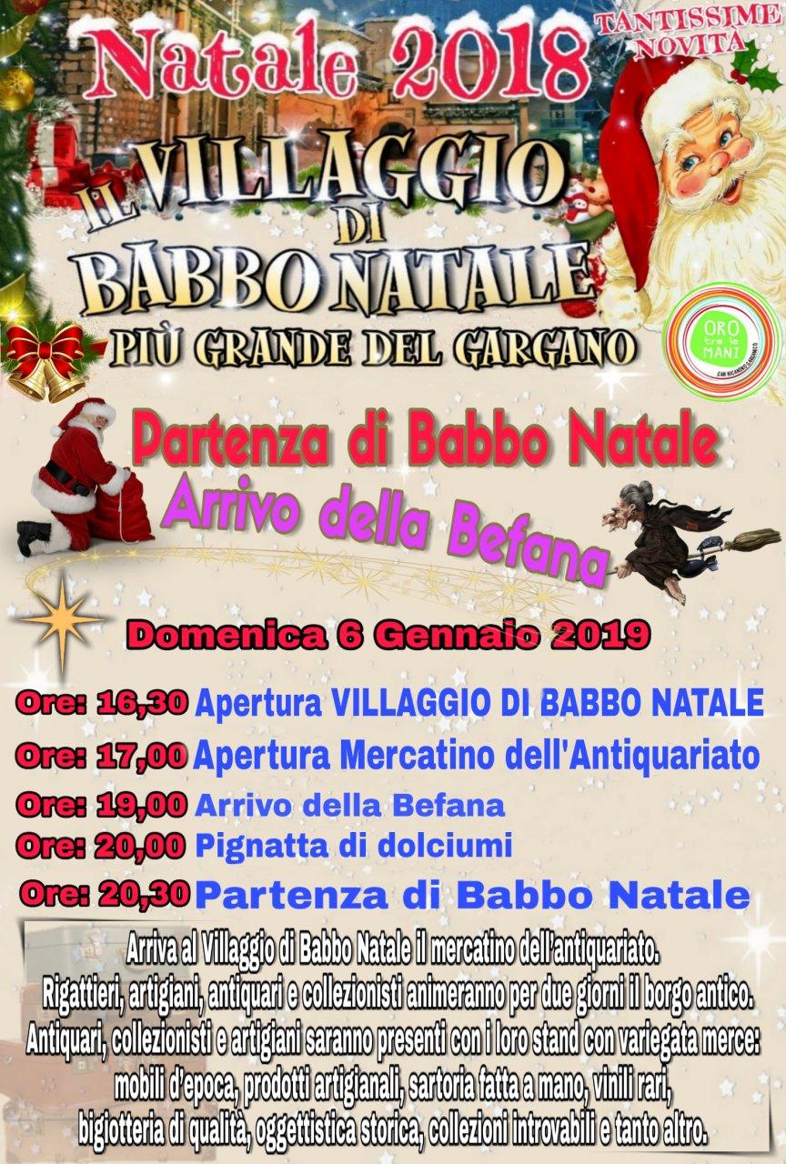 Descrizione Di Babbo Natale Per Bambini.Il Villaggio Di Natale Piu Grande Del Gargano A San Nicandro