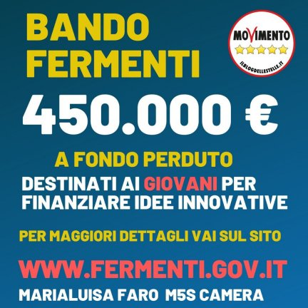 On Line il Bando