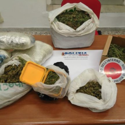 Marijuana in casa, arrestato 39enne