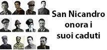 San Nicandro onora i suoi caduti